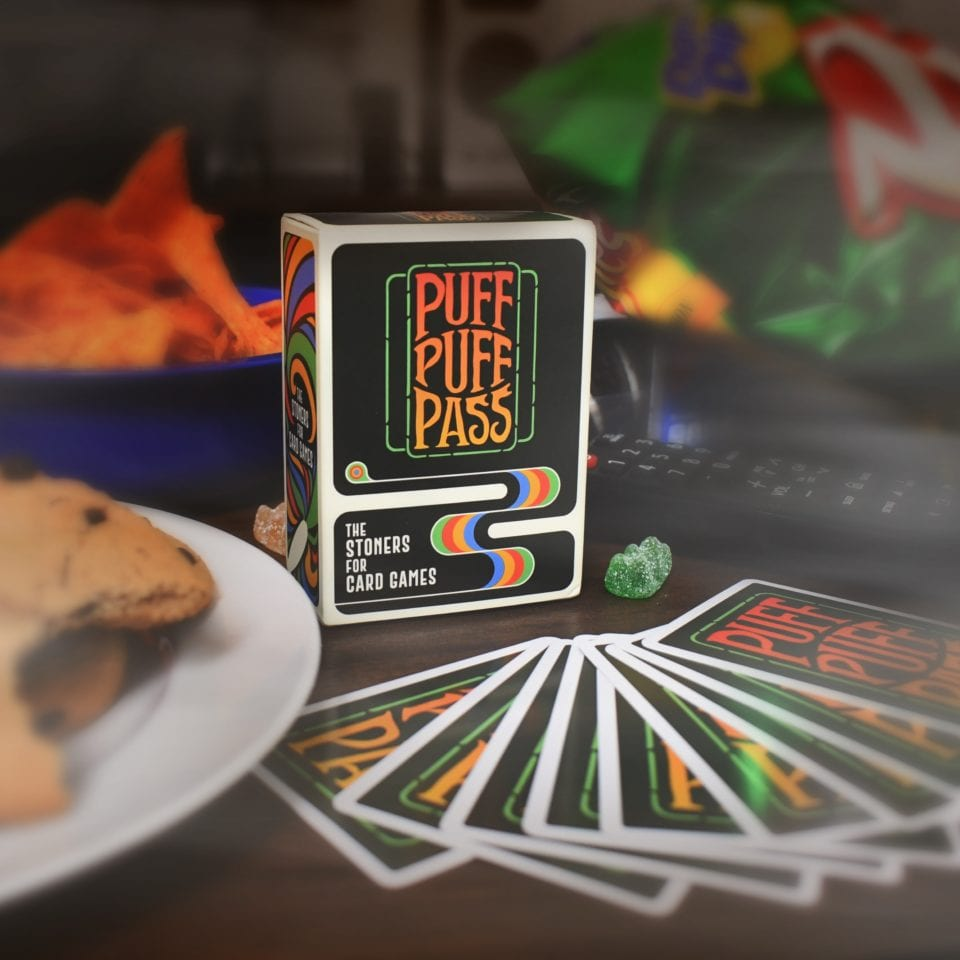 Card Game Encourages Players To Puff Puff Pass