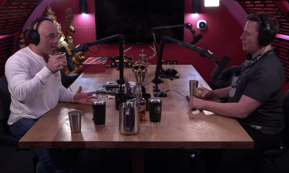 Elon Musk Thinks CBD Is 'Fake,' But Joe Rogan Teaches Him A Lesson